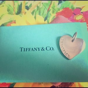 Authentic Tiffany's & Co. Heart Tag
